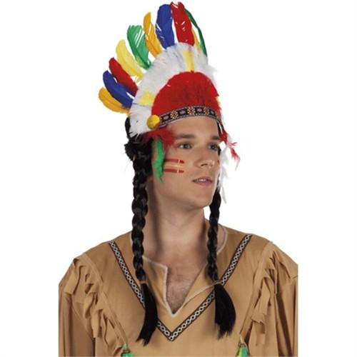 Pandoli Işıklı Kızılderili Taç