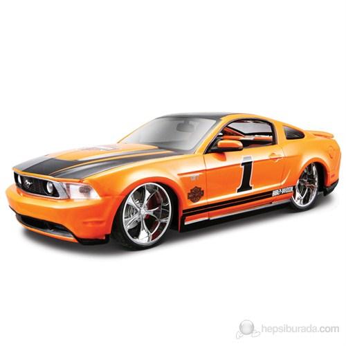 Maisto Ford Mustang Gt Diecast Model Araba 1:24 Turuncu