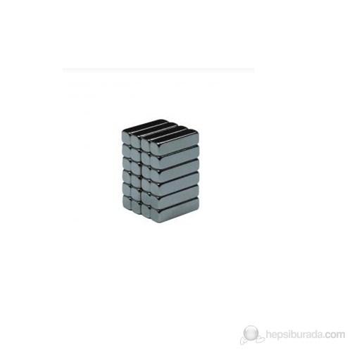 Neodyum Mıknatıs Blok 12x3x3 mm (60'lı Paket)