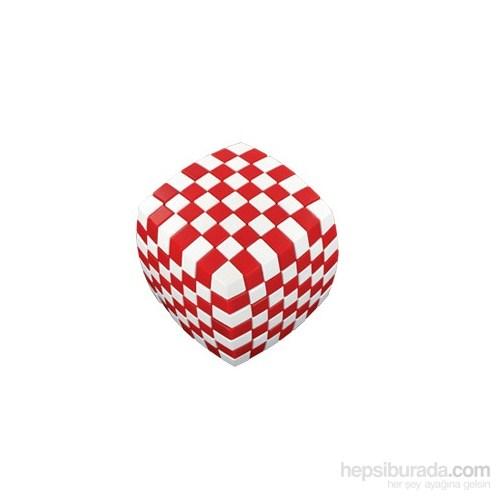 V-Cube 7 Illusion Kırmızı-Beyaz
