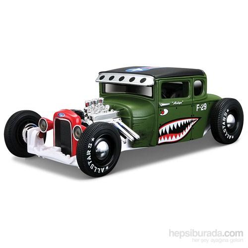 Maisto 1929 Ford Model A Diecast Model Araba 1:24 Pro Rodz Yeşil