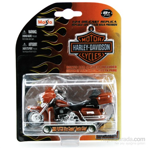 Maisto 1:24 Harley Davidson 2005 Flhcuı Classic Model Motorsiklet