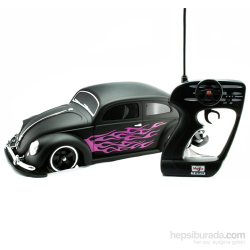 Maisto Tech Beetle 1951G-Ridez Uzaktan Kumandalı Araba 1:10 Siyah