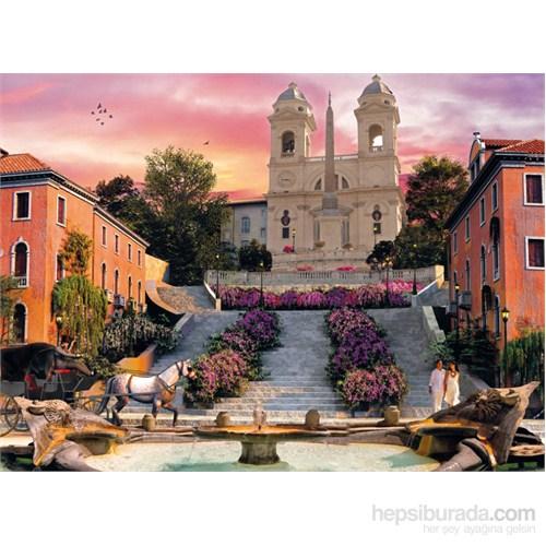Clementoni 1000 Parça Puzzle Romantik İtalya - Roma