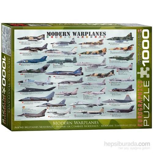 Eurographics Modern Savaş Uçakları Puzzle 1000 Parça
