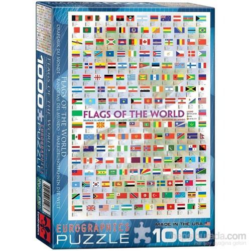 Eurographics Dünya Bayrakları Puzzle 1000 Parça
