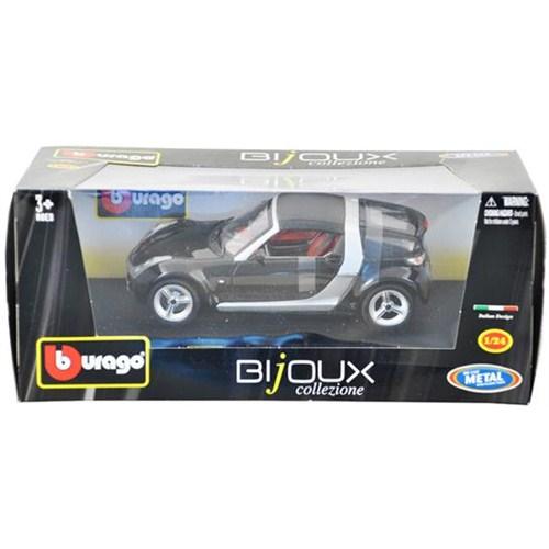 Burago Smart Roadster Coupe (Siyah)