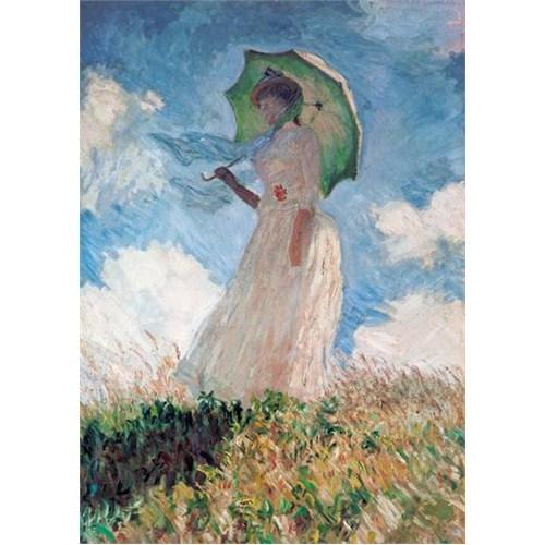 Clementoni Puzzle Woman with Umbrella, Claude Monet (1000 Parça)