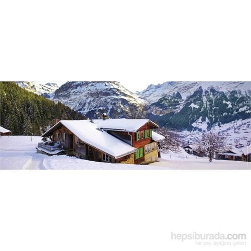 Ravensburger 500 Parça Alp Dağ Evi Panorama Puzzle