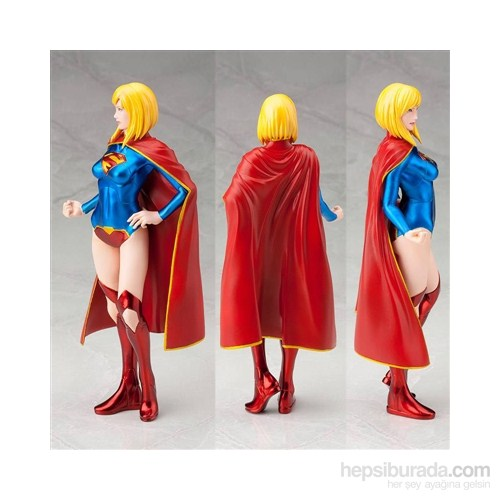 Dc Comics: Supergirl The New 52 Artfx+ Pvc Statue 1/10