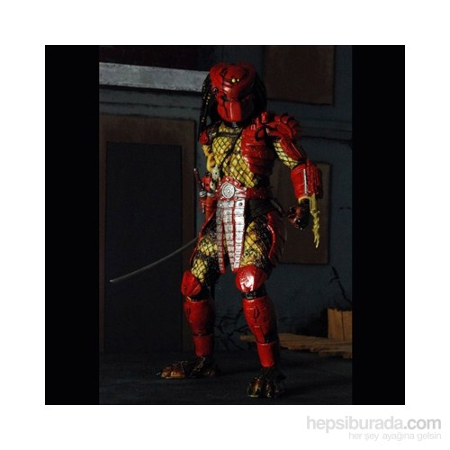 Predators 1/4 Scale Series 3 Big Red Predator Figür 50 Cm