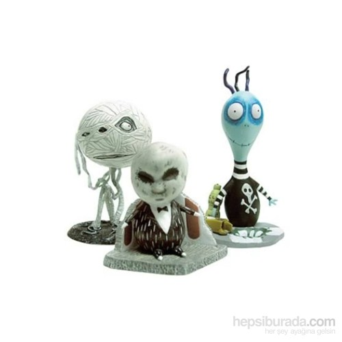 Tim Burton Pvc Set #2 Toxic Boy