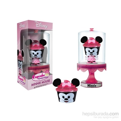 Minnie Cupcake Keepsake Mini Cupcake Kabı Figür