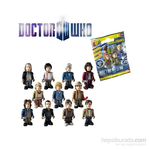 Doctor Who: Character Building Anniversary Wave Blindbox