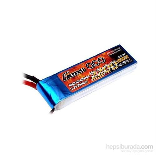 Gens Ace 2200Mah 7.4V 30C 2S1p Lipo Batarya
