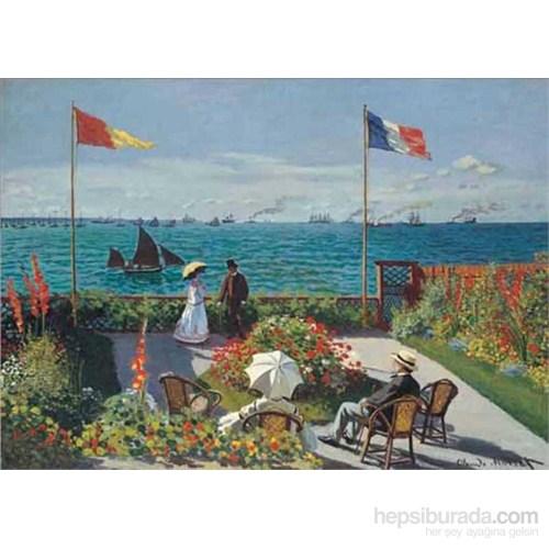 Terrasse A Saint-Adresse, Monet (2000 Parça Puzzle)