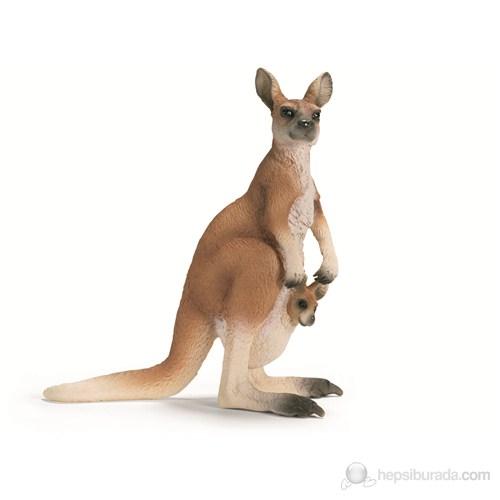 Schleich Kanguru Figür Model