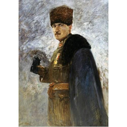 Gold Puzzle Mustafa Kemal Paşa (1000 Parça)