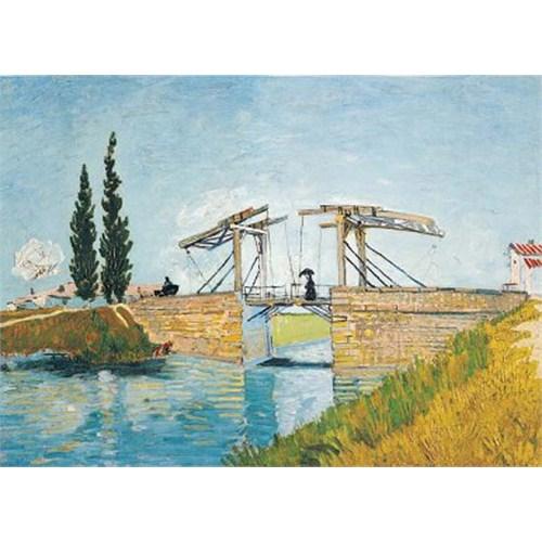 Ricordi Puzzle Le Pont De Langlois, Van Gogh (1000 Parça)