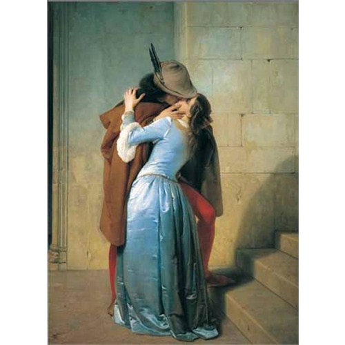 Ricordi Puzzle The Kiss, Francesco Hayez (1000 Parça)
