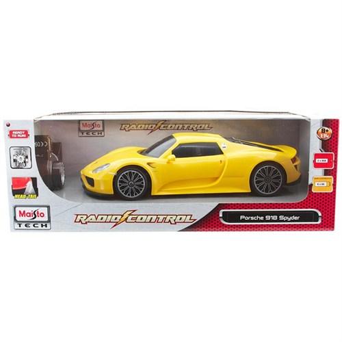 Maisto Tech Porsche 918 Spyder Uzaktan Kumandalı Araba 1:14 Sarı