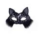 Partistok Dantelli Kedi Maskesi Siyah