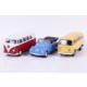 Welly Volkswagen Beetle - Volkswagen Microbus - 3'lü Set