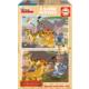 Educa Puzzle Aslan Kral 2 X 25 Parça Ahşap Puzzle