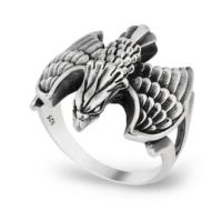 Chavin Kartal Gümüş Erkek Yüzük cs75