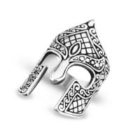 Chavin Miğfer Tasarım Gümüş Erkek Yüzük df71