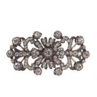 Aşina Gümüş Elmas Montür Jade Broş Muhteşem Yüzyıl Hurrem Harem Serisi