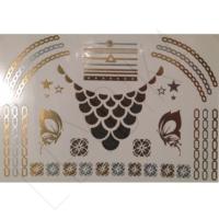 Leydika Flash Tattoo Geçici Metalik Dövme 147