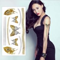 Leydika Flash Tattoo Geçici Metalik Dövme 465