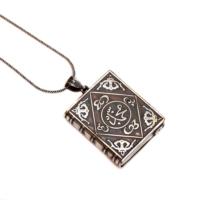 Sümer Telkari Muskalık Gümüş Kolye 977