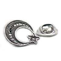 Sümer Telkari İşçilikli Elişi Gümüş Rozet 03