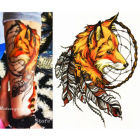 Dreamcatcher Fox Tattoo