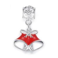 Angemıel Yeniyıl Yılbaşı Çanı Gümüş Kaplama Charm İle Kendi Tarzını Yarat