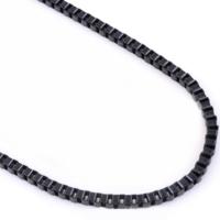 Chavin Siyah 75 cm. 2 mm. Erkek Çelik Zincir de93