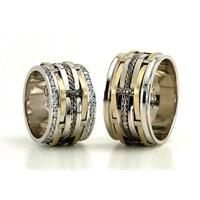Berk Kuyumculuk Gümüş Alyans 5835(çift)