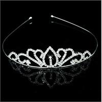 Modakedi Prenses Model Kristal Taşlı Gelin Kına Tacı