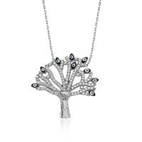 Olivin Accesories Gümüş Dilek Ağacı Kolye 432684