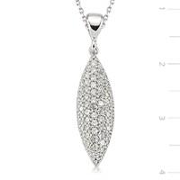 Tekbir Silver 925 Gümüş Zirkon Taşlı Kolye Set101126p