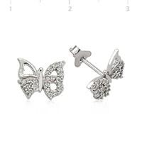 Gumush 925 Zirkon Taşlı Gümüş Küpe Ea1540008