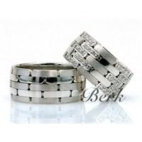 Berk Kuyumculuk Gümüş Alyans 5579 (Çift Fiyatı)