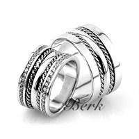 Berk Kuyumculuk Gümüş Alyans 5598 (Çift Fiyatı)