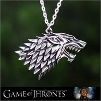 Takıcadde Game Of Thrones Stark Wolf Kolye