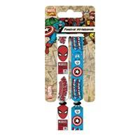 Festival Bilekliği - Marvel Retro Spider-Man & Captain America Fwr68022