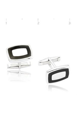 Gumush 925 Polyesterli Kol Düğmesi Cfl1350013