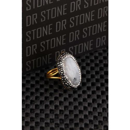 Dr Stone Doğaltaş -Kadın Aytaşı Yüzük 20Ar492