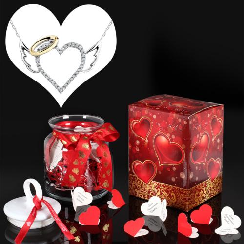Chavin Meleğimsin Altın Kolye ve Seni Seviyorum Aşk Mesajları